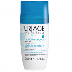 Uriage déodorant douceur roll on 50ml