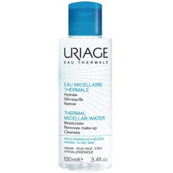 Uriage eau micellaire thermale peaux normales à sèches 100 ml