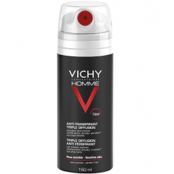 Vichy homme déodorant antitranspirant triple diffusion