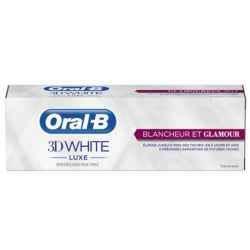 Oral-B 3D white luxe dentifrice blancheur et glamour 75 ml