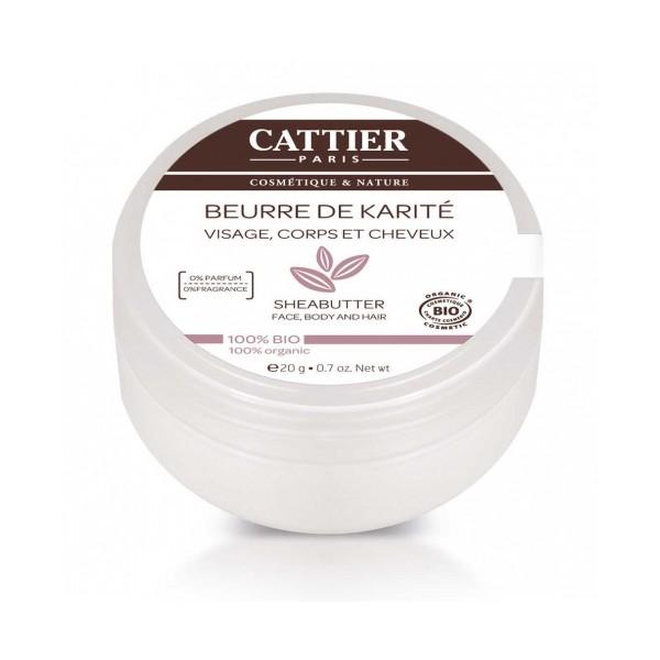 CATTIER BEURRE DE KARITE BIO 20G