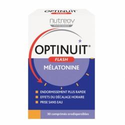 NUTREOV OPTINUIT FLASH MELATONINE 30 COMPRIMES