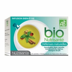 BIO NUTRISANTE INFUSION BIEN ETRE DEFENSES NATURELLES