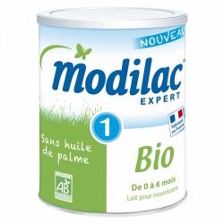 MODILAC EXPERT 1 LAIT EN POUDRE 0-6 MOIS BIO 800G
