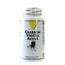 VIT ALL+ CHARBON VEGETAL ACTIVE 400MG 60 GELULES