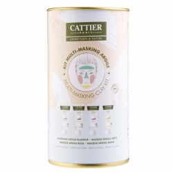 CATTIER COFFRET KIT MULTI MASKING ARGILE BIO