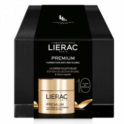 LIERAC COFFRET COLLECTOR PREMIUM CREME VOLUPTUEUSE OR 50ML