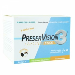 BAUSCH & LOMB PRESERVISION 3 30 STICKS