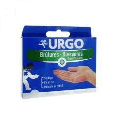 URGO BRULURES BLESSURES SUPERFICIELLES 6 PANSEMENTS STERILES 2.7X4.5CM