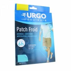 URGO PATCH FROID ENTORSES ET CONTUSIONS X6