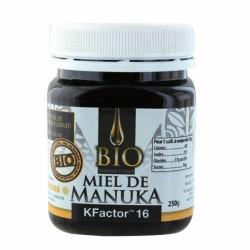 MIEL DE MANUKA BIOLOGIQUE KFACTOR 16 250G