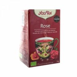 YOGI TEA ROSE 17 SACHETS