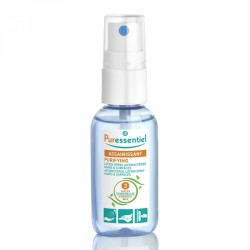 PURESSENTIEL LOTION SPRAY ANTIBACTERIENS MAINS ET SURFACES 25ML