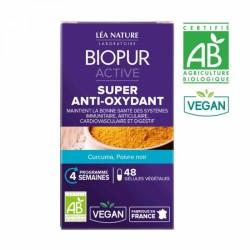 BIOPUR ACTIVE SUPER ANTI-OXYDANT BIO 48 GELULES