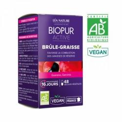 BIOPUR ACTIVE BRULE GRAISSES BIO 48 GELULES