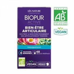 BIOPUR ACTIVE BIEN-ETRE ARTICULAIRE BIO 48 GELULES