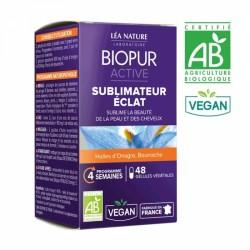 BIOPUR ACTIVE SUBLIMATEUR ECLAT BIO 48 GELULES
