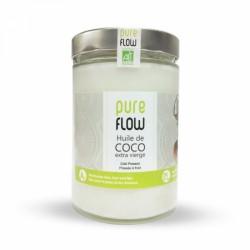 PURE FLOW HUILE DE COCO BIO 500ML