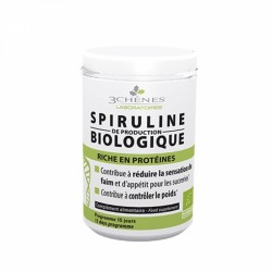 3 CHENES SPIRULINE BIOLOGIQUE 60 COMPRIMES
