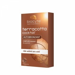 BIOCYTE TERRACOTTA COCKTAIL AUTOBRONZANT 30 COMPRIMES