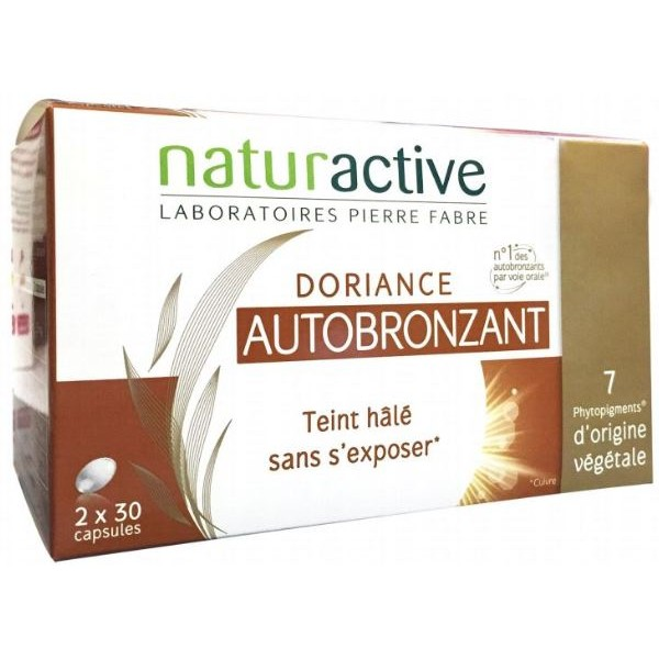 Naturactive doriance autobronzant 2x30 capsules