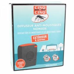 CINQ SUR CINQ DIFFUSEUR ANTI-MOUSTIQUES NOMADE + TABLETTE + PILES