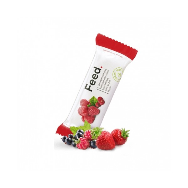 FEED BARRE REPAS FRUITS ROUGES /100G