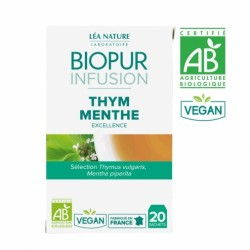 BIOPUR INFUSION THYM MENTHE 20 SACHETS