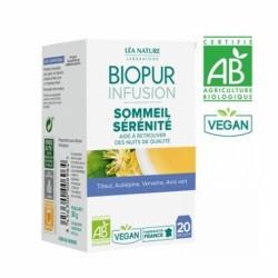 BIOPUR INFUSION SOMMEIL SERENITE BIO 20 SACHETS