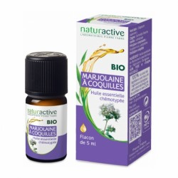 NATURACTIVE HUILE ESSENTIELLE BIO MARJOLAINE A COQUILLES 5ML