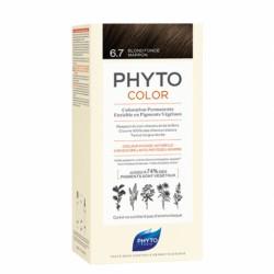 PHYTOCOLOR COLORATION PERMANENTE - 6.7 BLOND FONCE MARRON