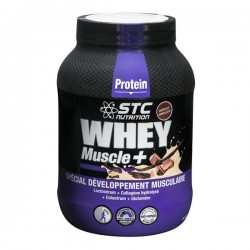 STC whey muscle+ protein vanille 750g
