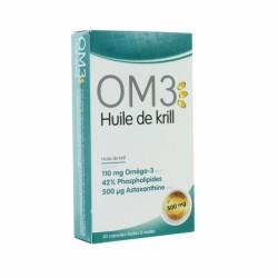 OM3 KRILL HUILE KRILL 500MG 30CAPS