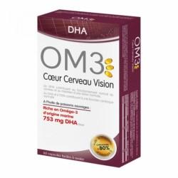 OM3 DHA COEUR CERVEAU VISION CPR BT60