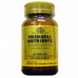 SOLGAR PRENATAL NUTRIENTS TABS / 60
