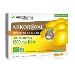 ARKOROYAL GELEE ROYALE 1500MG BIO AMP 10ML /20