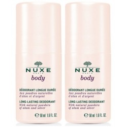 NUXE BODY DEO ROLL-ON LONGUE DUREE 2X50ML