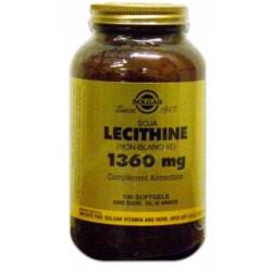 SOLGAR LECITHINE SOJA 1360MG SOFTGEL /100