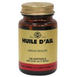 SOLGAR HUILE D'AIL SOFTGEL /100