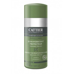 CATTIER HOMME SOIN HYDR PROTECT 50ML