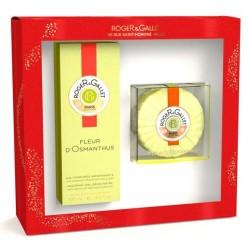 ROGER & GALLET COFFRET EAU PARFUMEE FLEUR D'OSMANTHUS 100ML + SAVON 100G OFFERT FLEUR D'OSMANTHUS