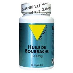 VIT ALL+ HUILE DE BOURRACHE 1000MG CAPS /30