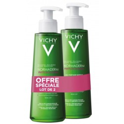 VICHY NORMADERM PHYTO GEL NETTOYANT 2X400ML
