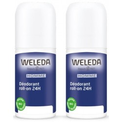 WELEDA DEO ROLL-ON 24H HOMME DUO /2X50ML