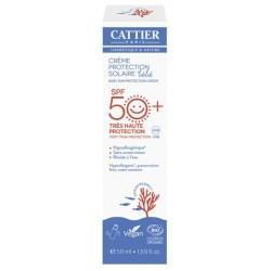 CATTIER BB CR PROTECT SOLAIRE SPF 50+ 50ML