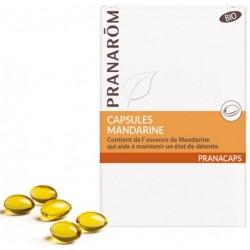 PRANAROM PRANACAPS MANDARINE BIO CAPSULES X30