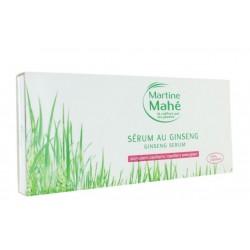 MARTINE MAHE SERUM AU GINSENG 10 AMPOULES