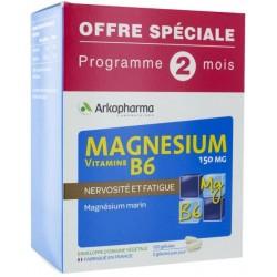 ARKOVITAL MAGNESIUM VITAMINE B6 GELULES /120