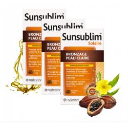 SUNSUBLIM BRONZAGE PEAU CLAIRE 3x28 CAPSULES NUTREOV
