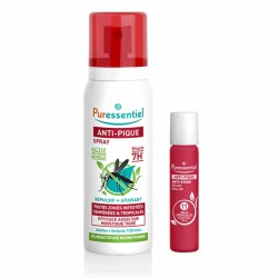PURESSENT ANTI PIQUE SPRAY 75ML + ROLLER APAIS 5ML